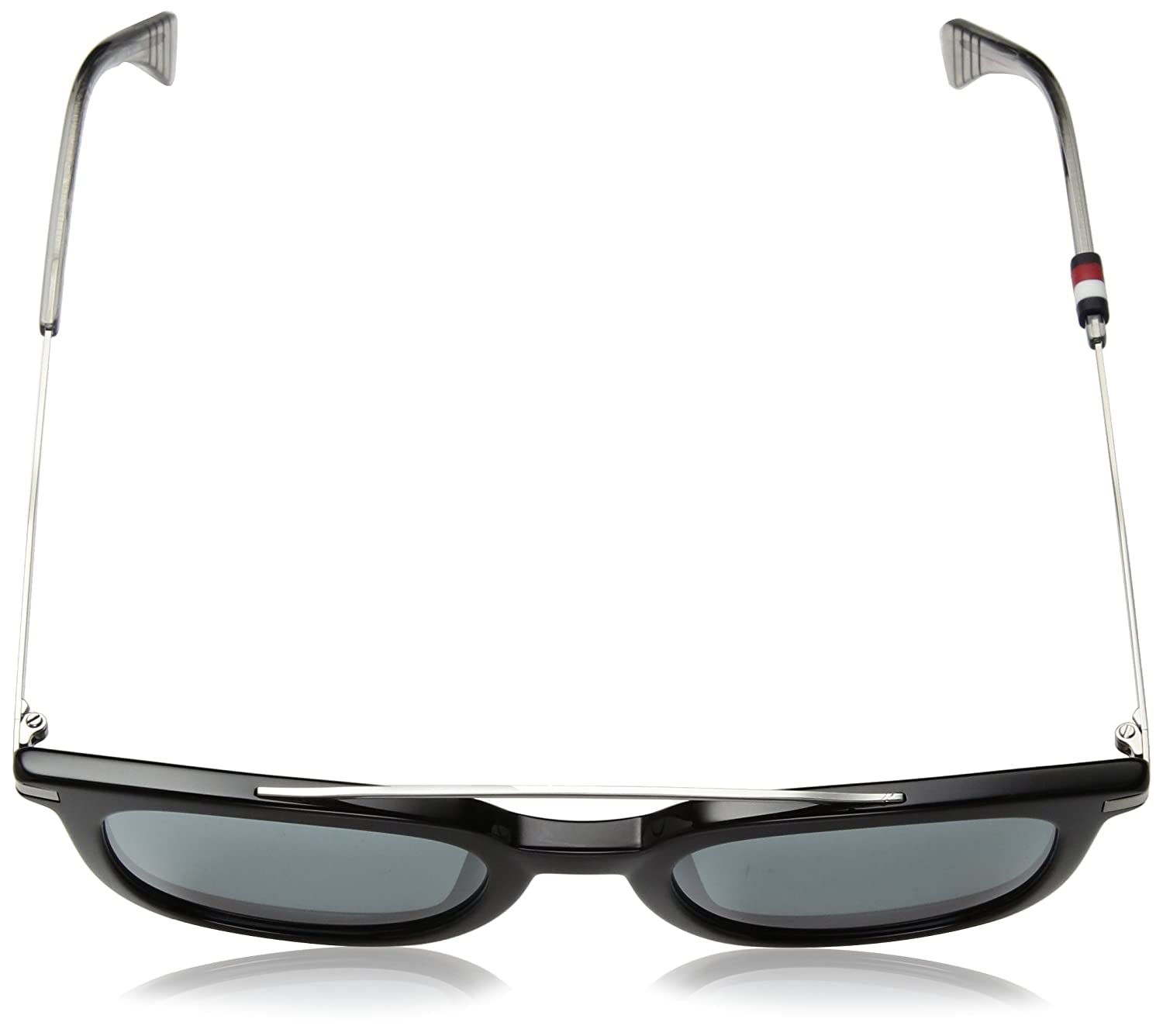 Tommy Hilfiger Herren Sonnenbrille TH 1515/S T4 807, Black/Gy Grey, 49