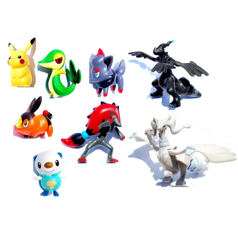 Amazon.com: Pokemon Black & White 2011 Mcdonalds 8 Figures Set w ...