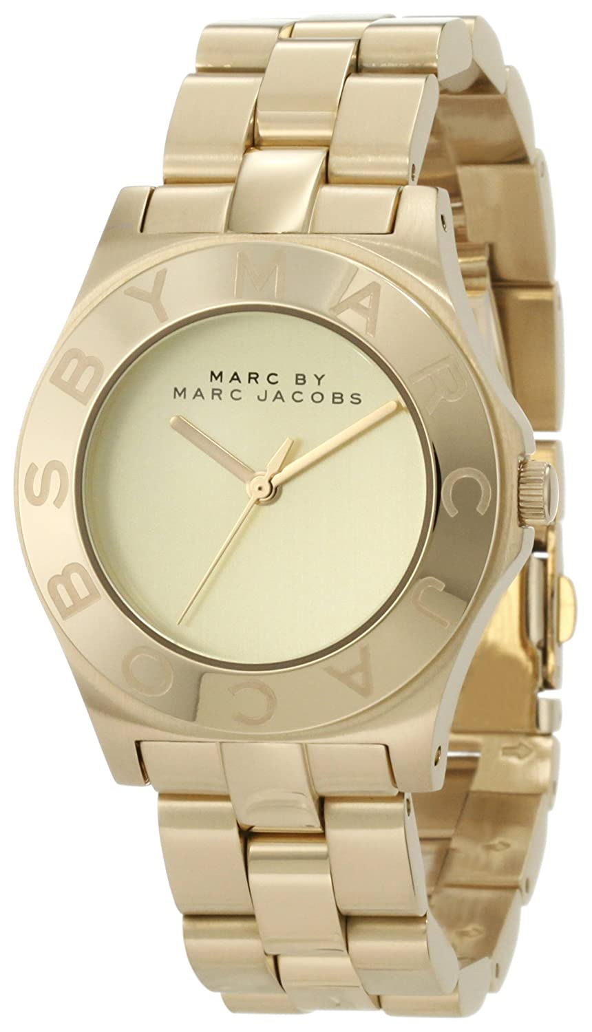 Marc by Marc Jacobs Blade Gold Damenuhr MBM3126