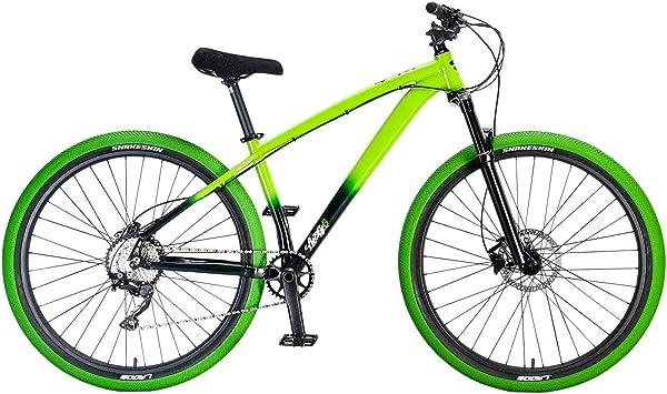 Mafiabike Lucky6 STB-R - Bicicleta de montaña, color verde, color ...