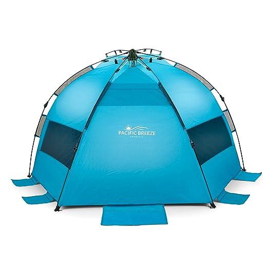 sc 1 st  Amazon.com & Amazon.com: Pacific Breeze Easy Up Beach Tent: Sports u0026 Outdoors