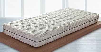 ERGO – Colchón memory Basic con espuma de poliuretano – Dimensiones: 160 x 200 cm