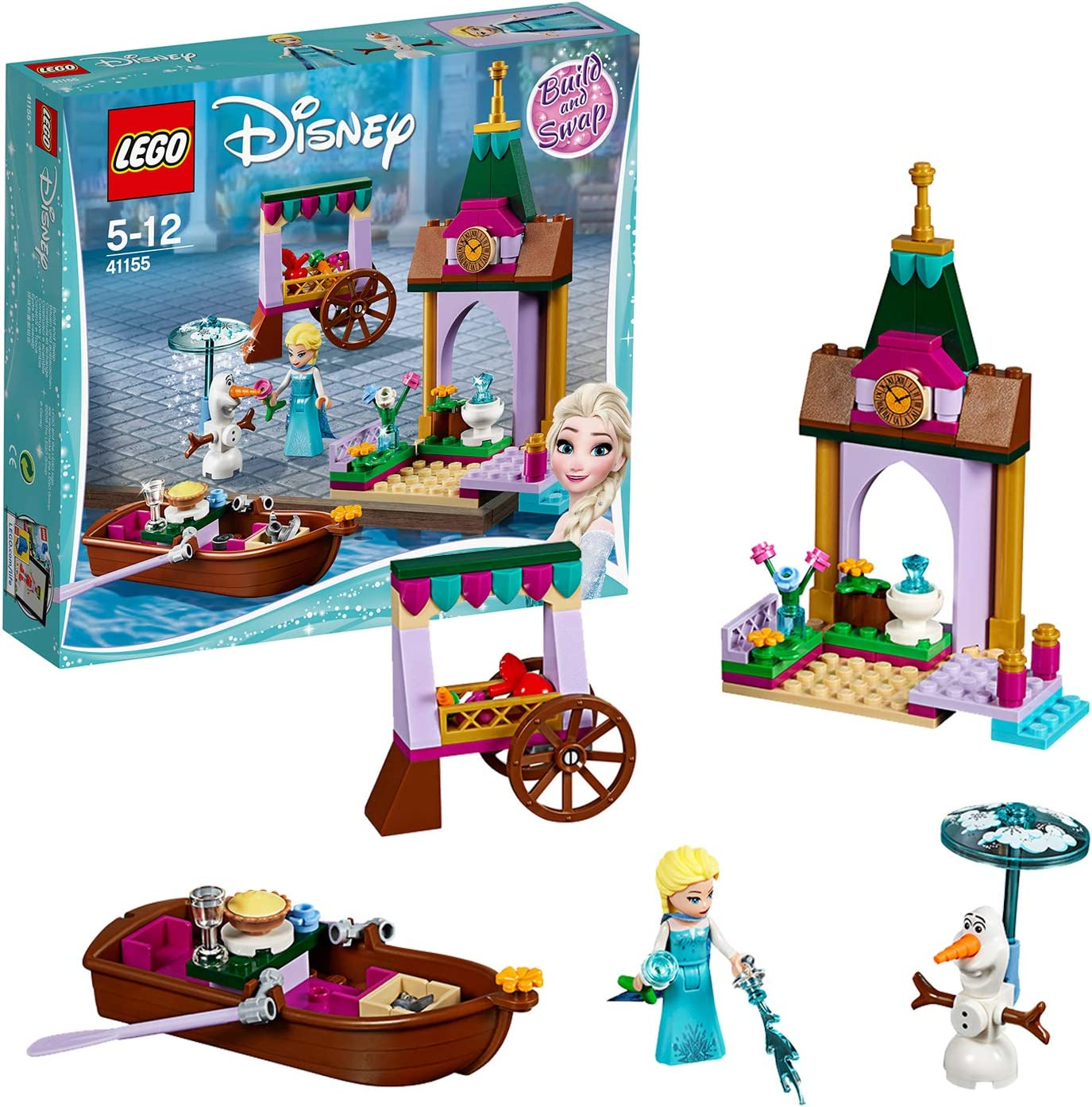 Lego Princess 41155 Elsa39;s Adventures in The Market
