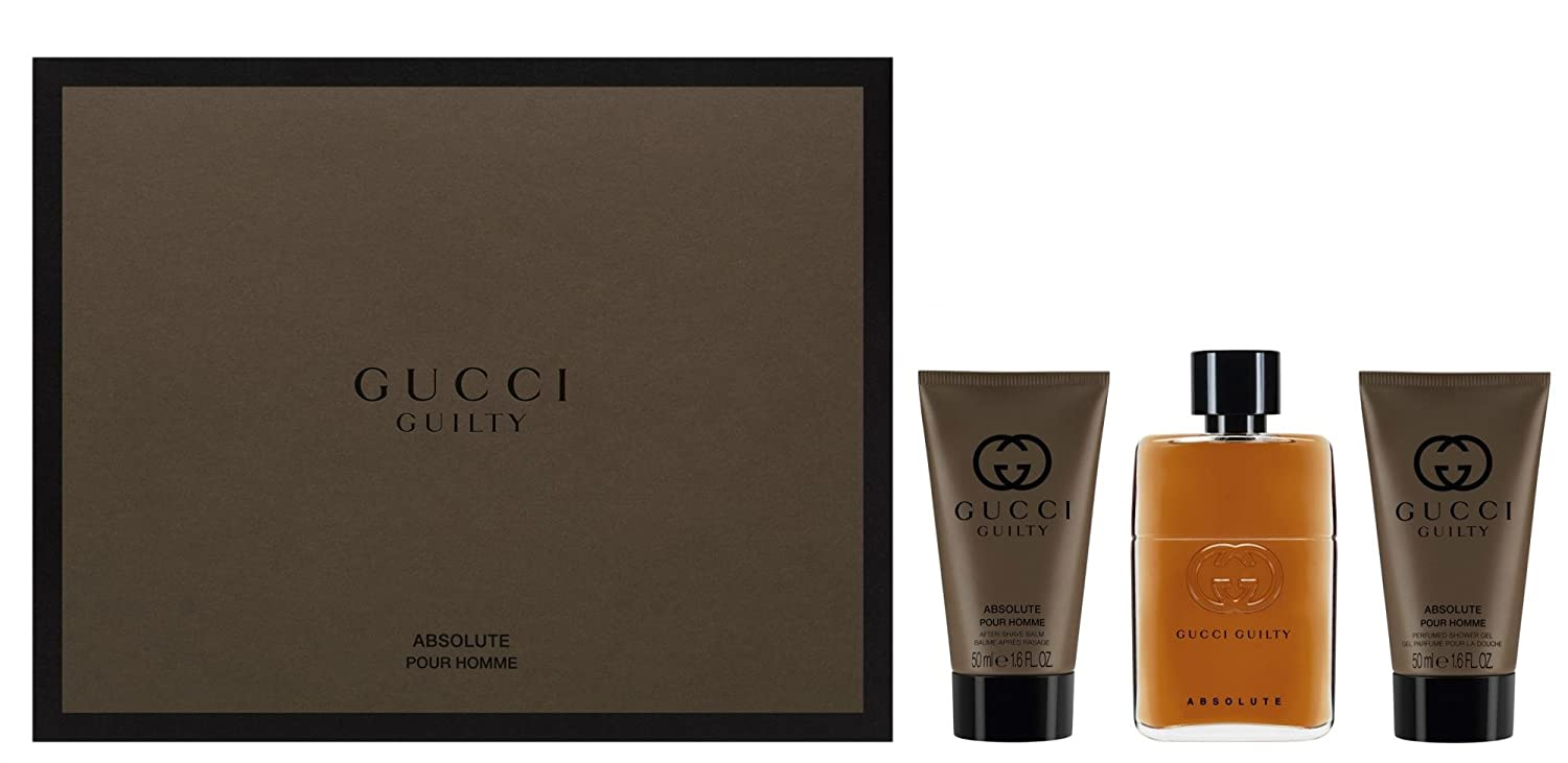 6cea11eae Gucci Gucci Guilty Absolute(M) Set: Edp 50+Asb X: Amazon.co.uk: Beauty