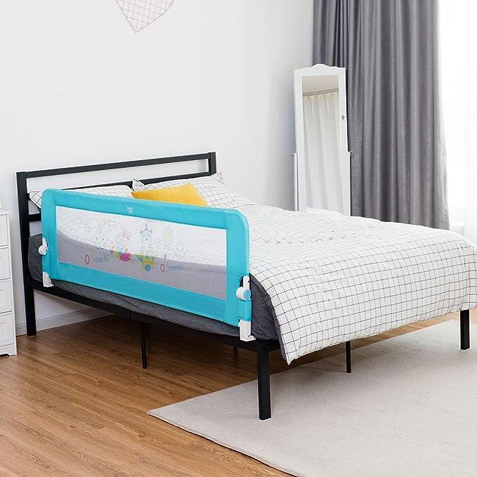Amazon.com: Costzon - Barra de cama plegable de acero ...