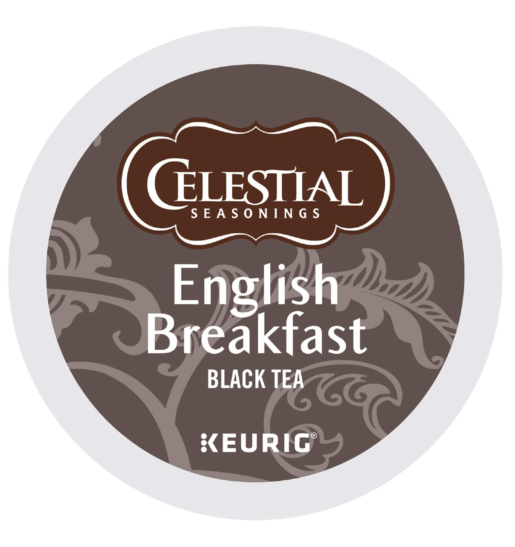 Celestial Seasonings English Breakfast Tea, Single-Serve Keurig K-Cup Pods, Classic English Tea, 96 Count by Celestial Seasonings