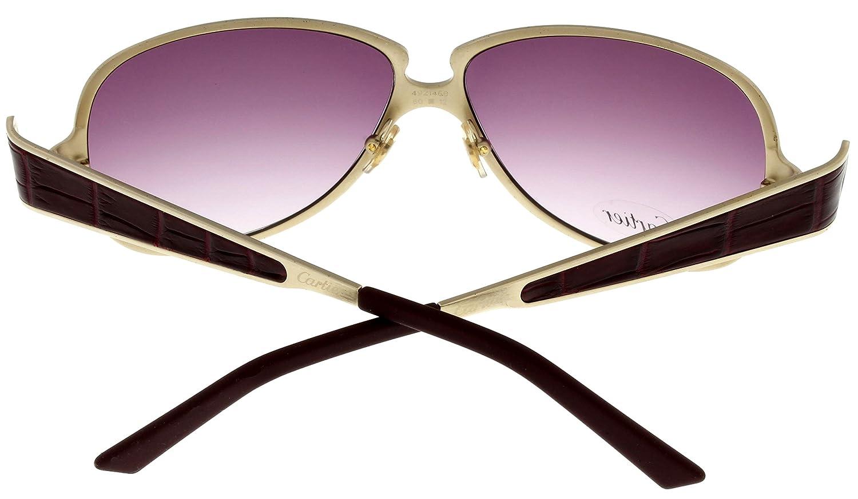 Amazon.com: Cartier anteojos de sol Edición C decoración ...