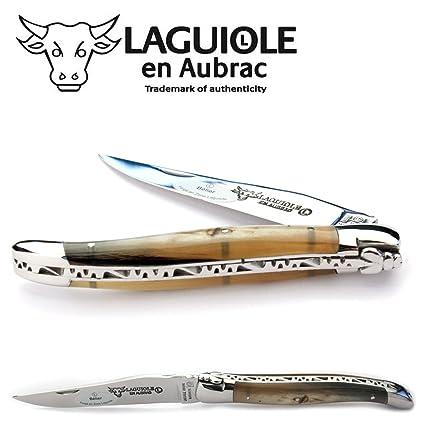 Amazon.com: Laguiole en Aubrac L0311GOIS – Navaja 12 cm ...