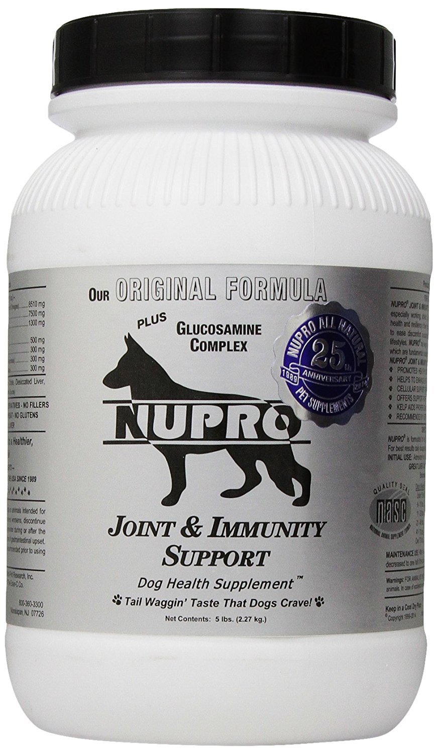 5 LB Pack of 2 Nupro Joint Suppliment Silver Size 5LB Pack of 2