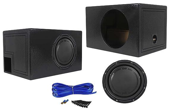 Amazon.com: Polk Audio DB1242SVC 12 1110 Watt SVC Car Subwoofer+Vented Sub Box Enclosure: Car Electronics