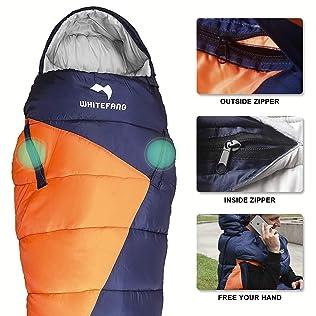 WhiteFang Sleeping Bag