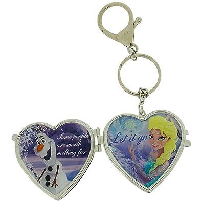 Disney Para niñas Frozen Olaf y Elsa espejo compacto lateral ...