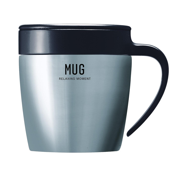 Asbel Sp Stainless Steel Vacuum Insulation Mug 11 Fl Oz Black