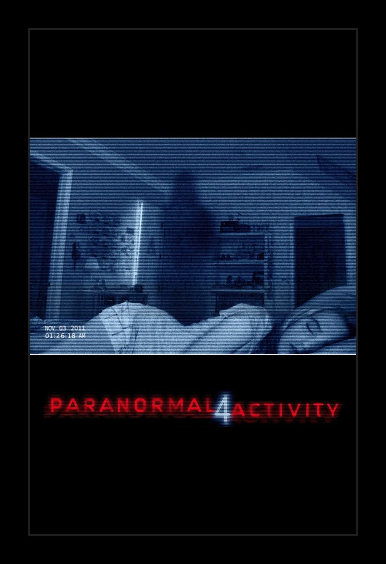 Paranormal Activity 4 - 11x17 Framed Movie Poster by Wallspace