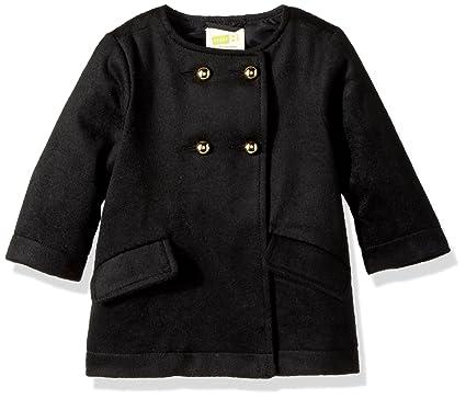 36956267 Amazon.com: Crazy 8 Girls' Toddler Black Peacoat: Clothing