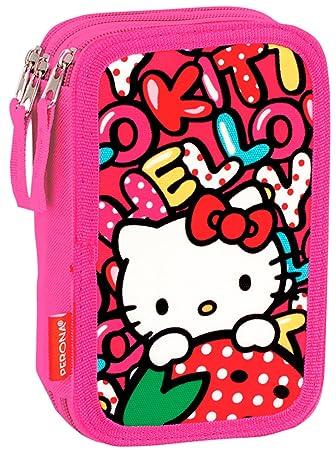 Estuche Hello Kitty Triple 44 Piezas: Amazon.es: Juguetes y ...