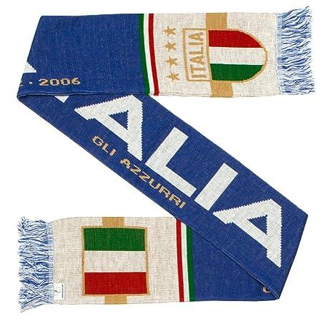 taglia 40 d74f5 28fad Italia, sciarpa di lana della nazionale italiana di calcio