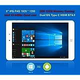 "ChuwiUSA Pro 8"" IPS FHD (1920 X 1200) Intel X5 Atom Z8350 Quad Core, Windows 10/Android 5.1 2G RAM,32G ROM eMMC, 2.0M Webcams, WiFi,Type-C and Micro HDMI Port,Kids Tablet PC"