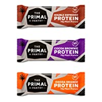 The Primal Pantry Paleo Bars Mixed Case Raw, Vegan, Gluten Free (Paleo Protein Bars)
