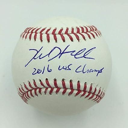 a1371680e08 Kyle Hendricks Signed Baseball - 2016 World Series Champs Major League -  JSA Certified - Autographed