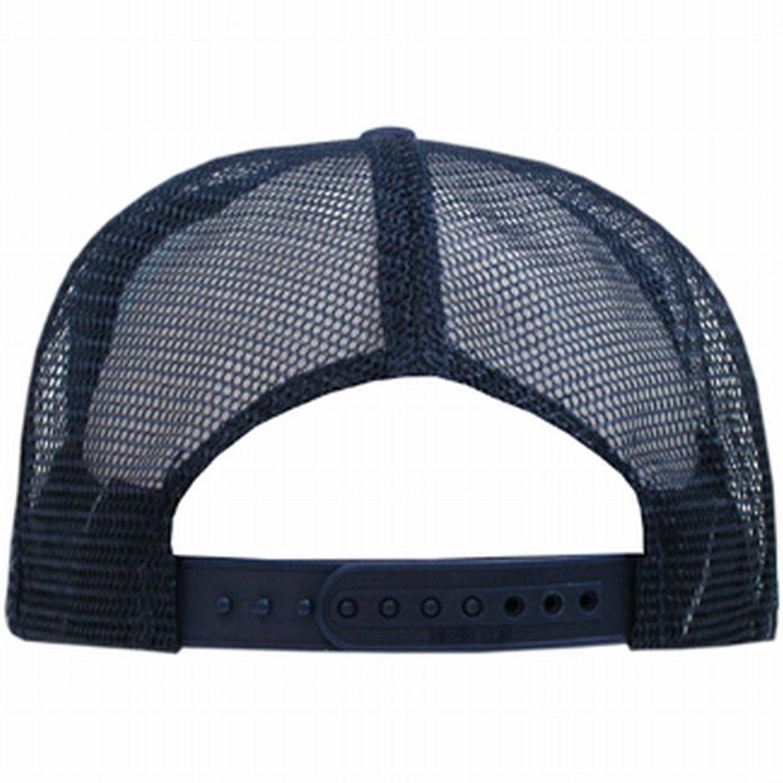 a93c1abc9 NAVY BLUE MESH TRUCKER STYLE CAP HAT CAPS HATS ADJUSTABLE