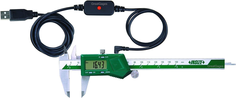INSIZE 1111-75A Mini Electronic Caliper 0-3//0-75 mm