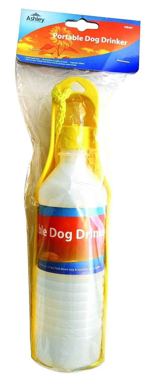 Portable perro bebedero/Cuenco, simple plegable Bandeja y apretar botella de agua, ideal para perro Pasear: Amazon.es: Productos para mascotas
