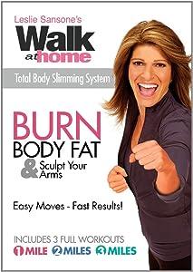 Leslie Sansone's Walk at Home Burn Body Fat & Sculpt Your Arms DVD