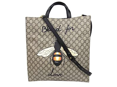 new product d9518 a47e3 Amazon | [グッチ] GUCCI ビー(ハチ)プリント 2wayトート ...