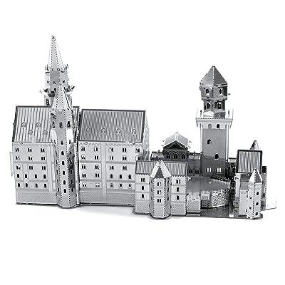 fascinations Metal Earth Neuschwanstein Castle 3D Metal Model Kit: FASCINATIONS: Toys & Games