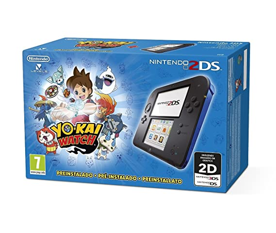 Nintendo 2DS - Consola, Color Azul + Yo-Kai Watch ...