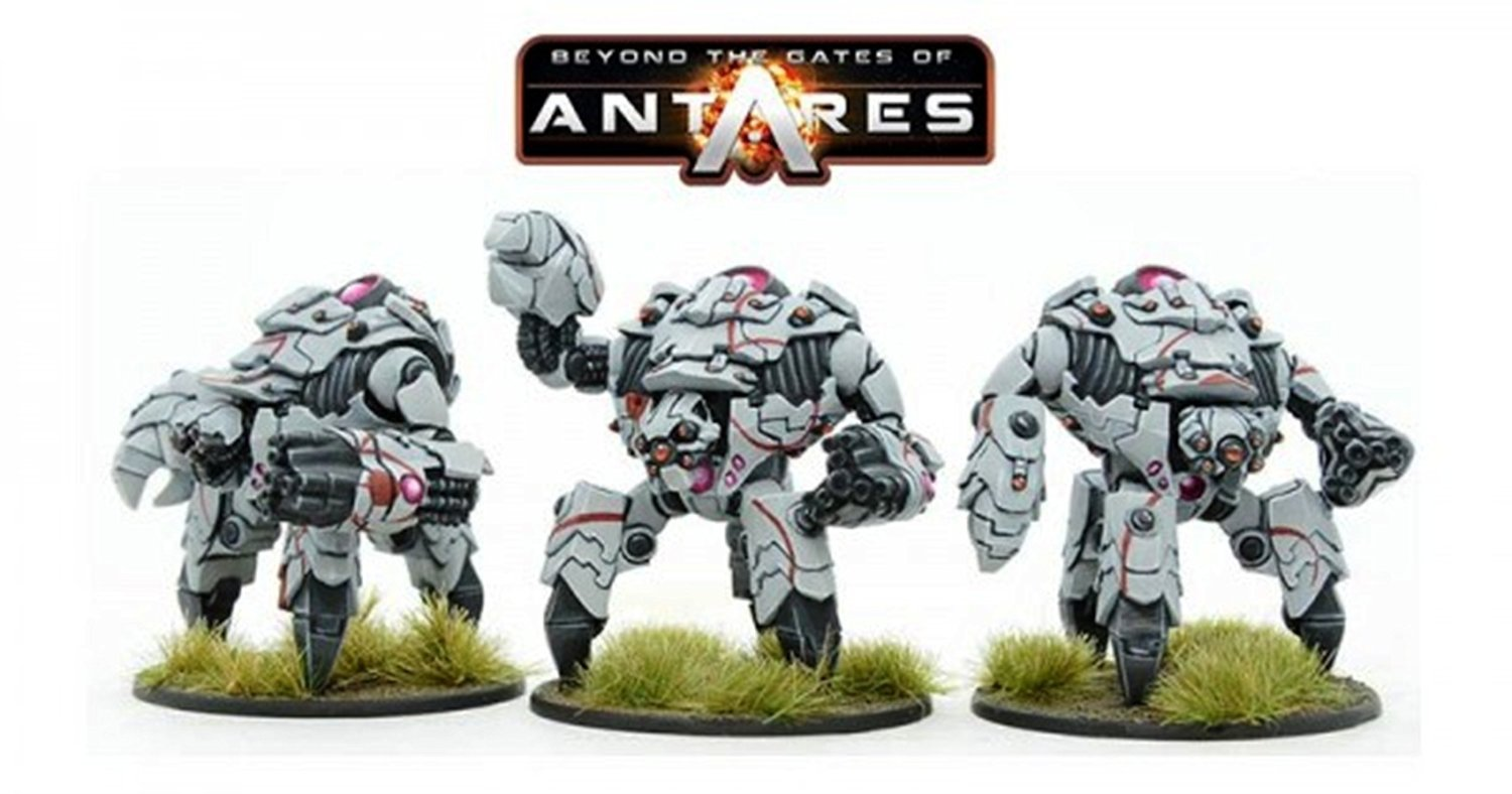 Beyond the the the Gates of Antares Launch Edition Kit de démarrage par warlordgames eba67a