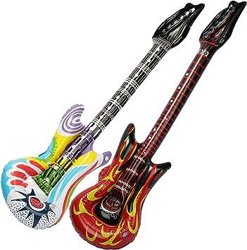 com-four® Las Guitarras inflables 2X en Rock se Ven como un ...