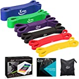 KMM Pull up Resistance and Assist Bands, Workout Bands | Powerlifting Bands,Mobility Stretch Bands,Exercise Band for…