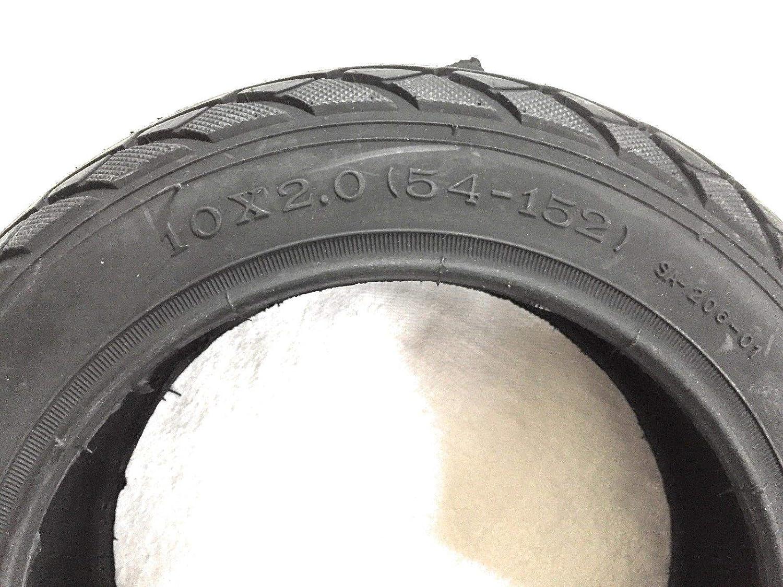 Deli Tire SA-206 10 Zoll 10 Mantel Ersatzmantel Reifen Ersatzreifen OHNE SCHLAUCH f/ür Kinderwagen 10 x 2.0 54-152