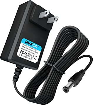 UL Listed OMNIHIL 8 Feet Long AC//DC Adapter Compatible with Horizon Fitness E401 EX57 LS645E