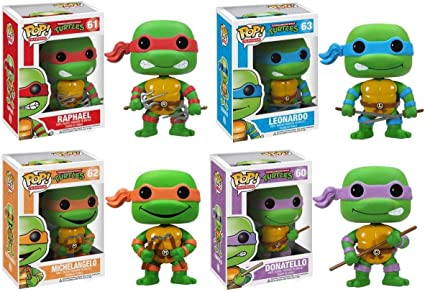 Amazon.com: Funko POP Teenage Mutant Ninja Turtles Figure ...