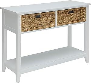 ACME Flavius White Console Table