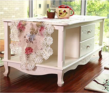 Awesome Amazon Com Vintage White Lace Table Runner Fabric Dresser Andrewgaddart Wooden Chair Designs For Living Room Andrewgaddartcom