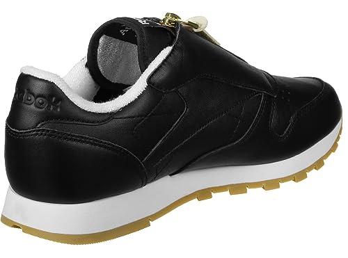 a26d399ea9e Reebok CL Leather Zip W Calzado  Amazon.es  Zapatos y complementos