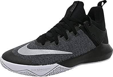 Nike Women's Zoom Shift Basketball Shoe BlackChromeWolf