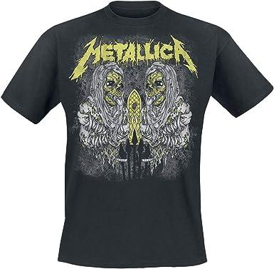 Metallica Sanitarium_Men_bl_TS:2XL Camiseta, Negro (Black Black), XX-Large para Hombre: Amazon.es: Ropa y accesorios