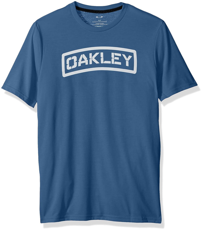 02f06f31e0 Oakley Mens O-tab Short-Sleeve Shirt at Amazon Men s Clothing store
