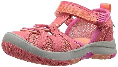 2d4322971db0 Merrell Girls  Hydro Monarch Junior 2.0 Sandal Orange 5 Medium US Toddler