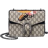 Women Handbags printing Shoulder Crossbody Bags For Women National style embroidery bee Bags