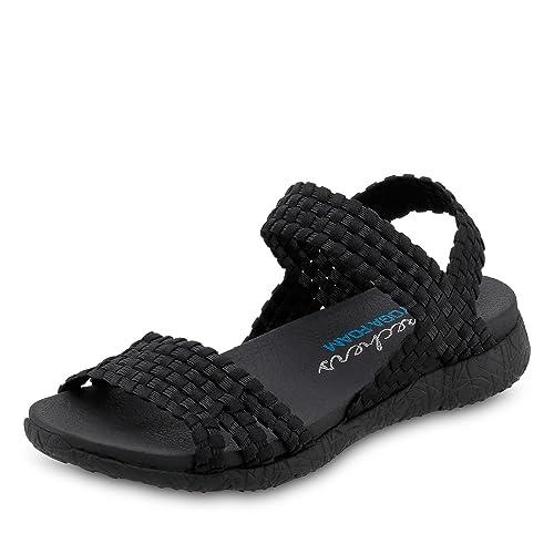 Skechers - Ladies 39060 Sandals In Black, 3 UK Adult