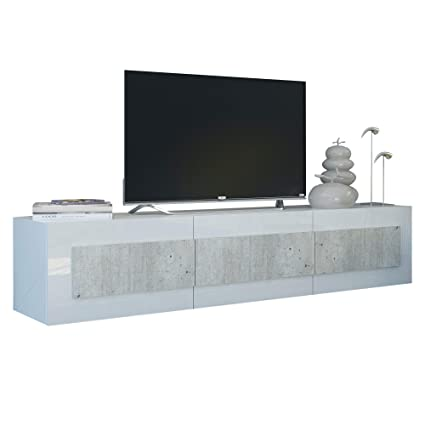 Amazon.com: Furniture.Agency 78.7 inch TV Stand Modern ...