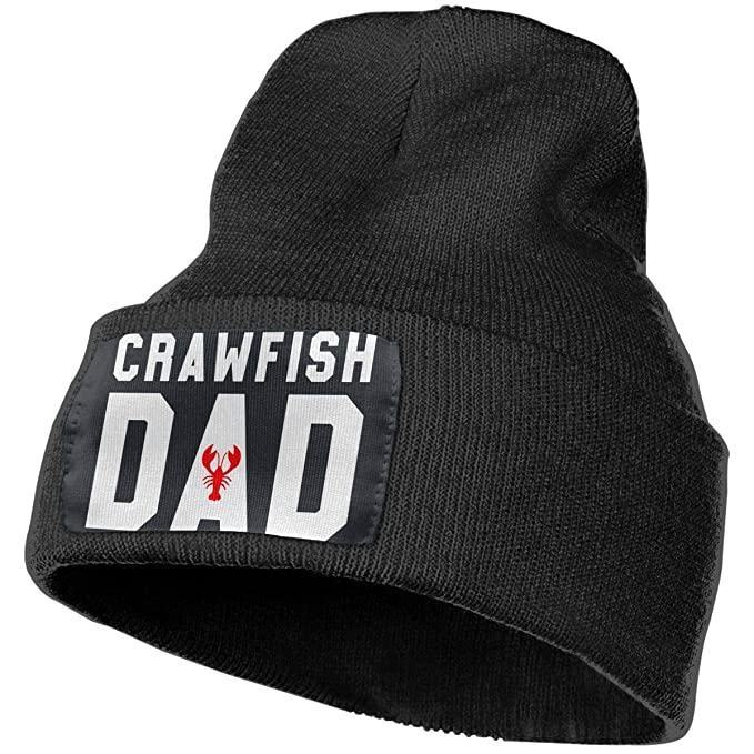 Crawfish Dad Unisex Beanie Hat Warm Hats Skull Cap Knitted Hat at Amazon  Men s Clothing store  1be4307b1617