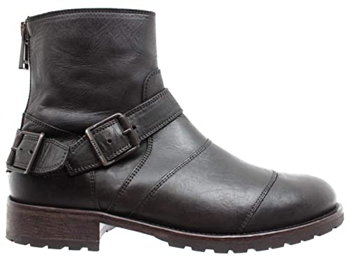 b8081e62a8da3 Belstaff Men s Shoes Ankle Boots 77800217 Trialmaster Black Made in Italy  New  Amazon.co.uk  Shoes   Bags