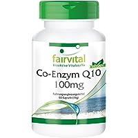 Coenzym Q10 100 mg - hoge dosis - CoQ10 Ubichinon capsules - veganistisch - 60 capsules
